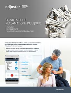 Services pour réclamations de bijoux